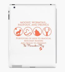 Moony, Wormtail, Padfoot, Prongs iPad Case/Skin