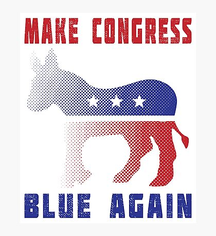 Make Congress Blue Again Photographic Print
