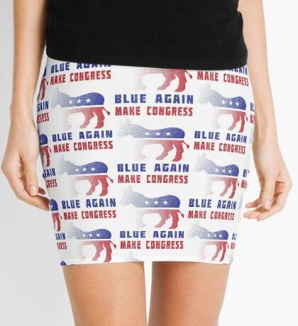 Make Congress Blue Again Mini Skirt