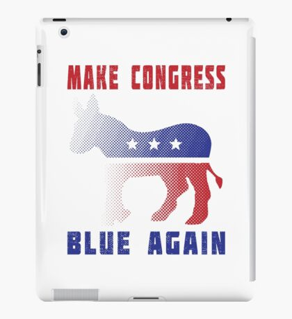Make Congress Blue Again iPad Case/Skin
