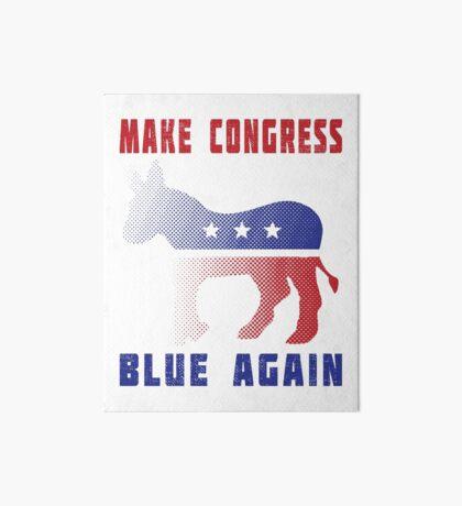 Make Congress Blue Again Art Board