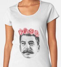 Joseph Stalin Women's Premium T-Shirt