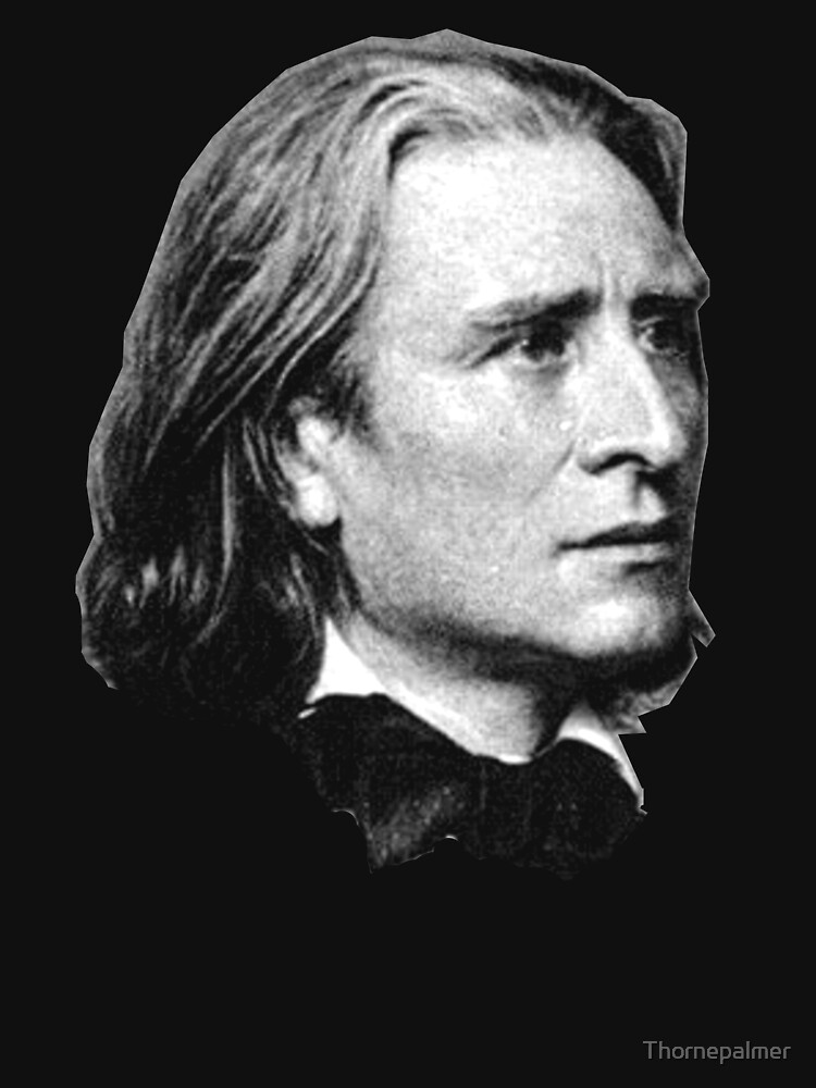 Franz Liszt - brilliant composer, virtuoso pianist by Thornepalmer