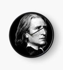 Franz Liszt - brilliant composer, virtuoso pianist Clock