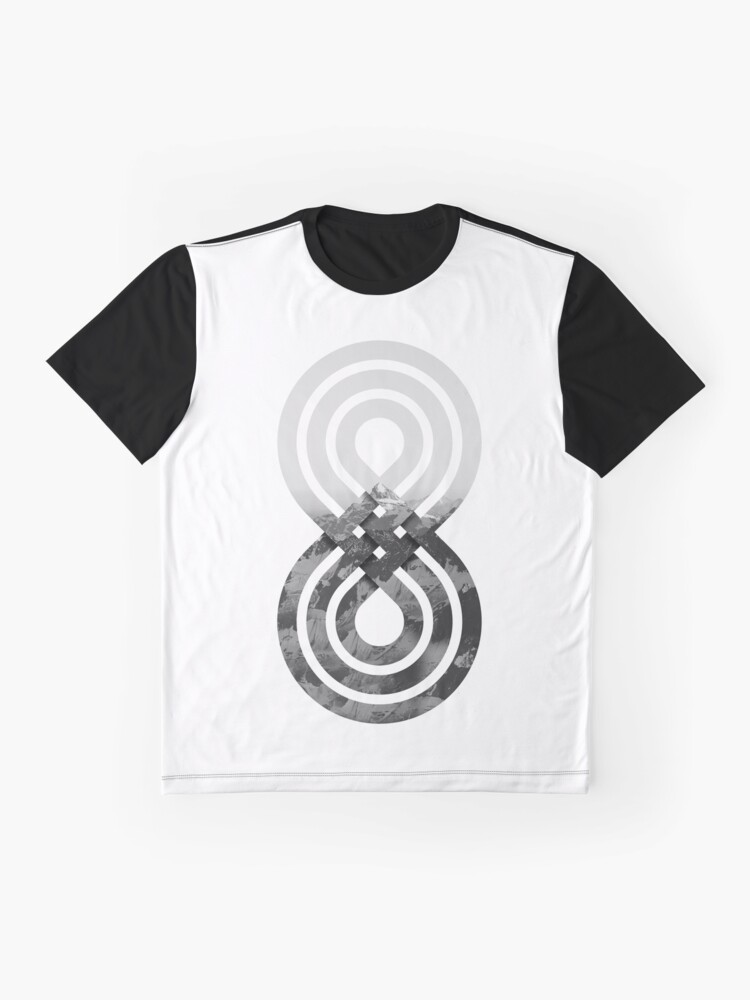 Alternate view of Nature's knot Graphic T-Shirt