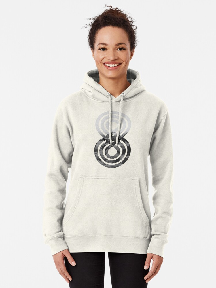 Alternate view of Nature's knot Pullover Hoodie