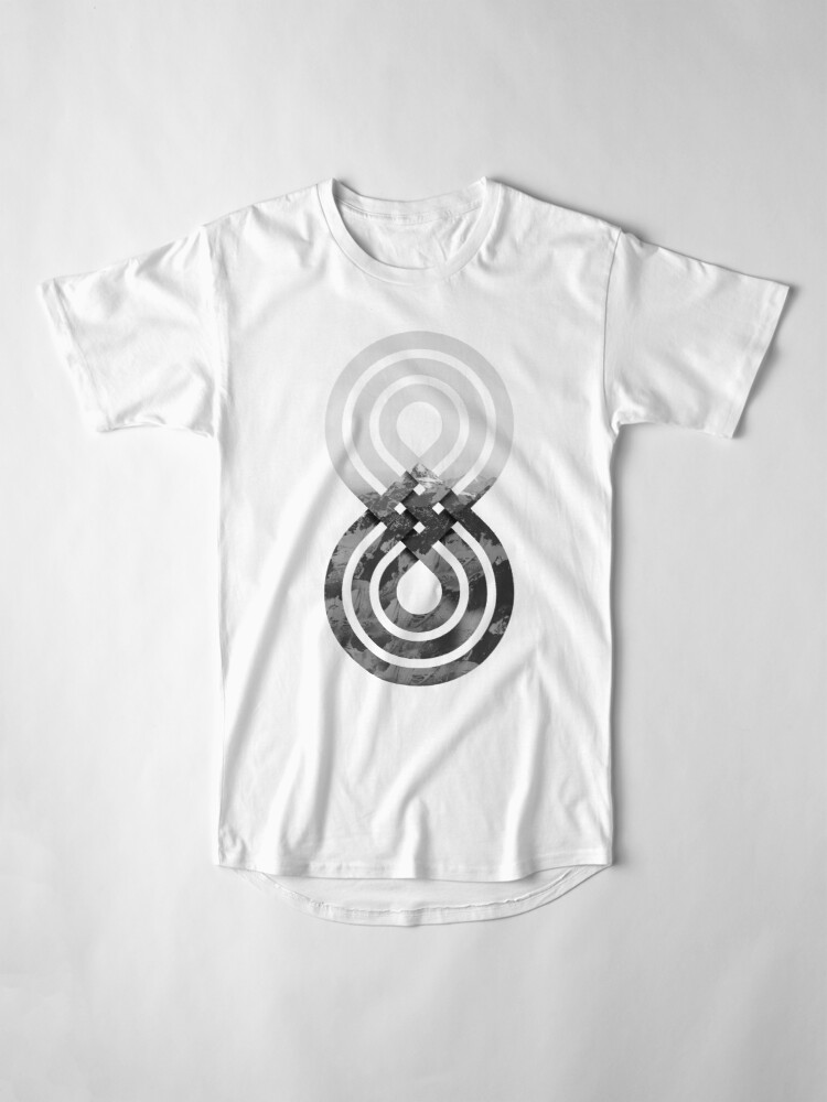 Alternate view of Nature's knot Long T-Shirt