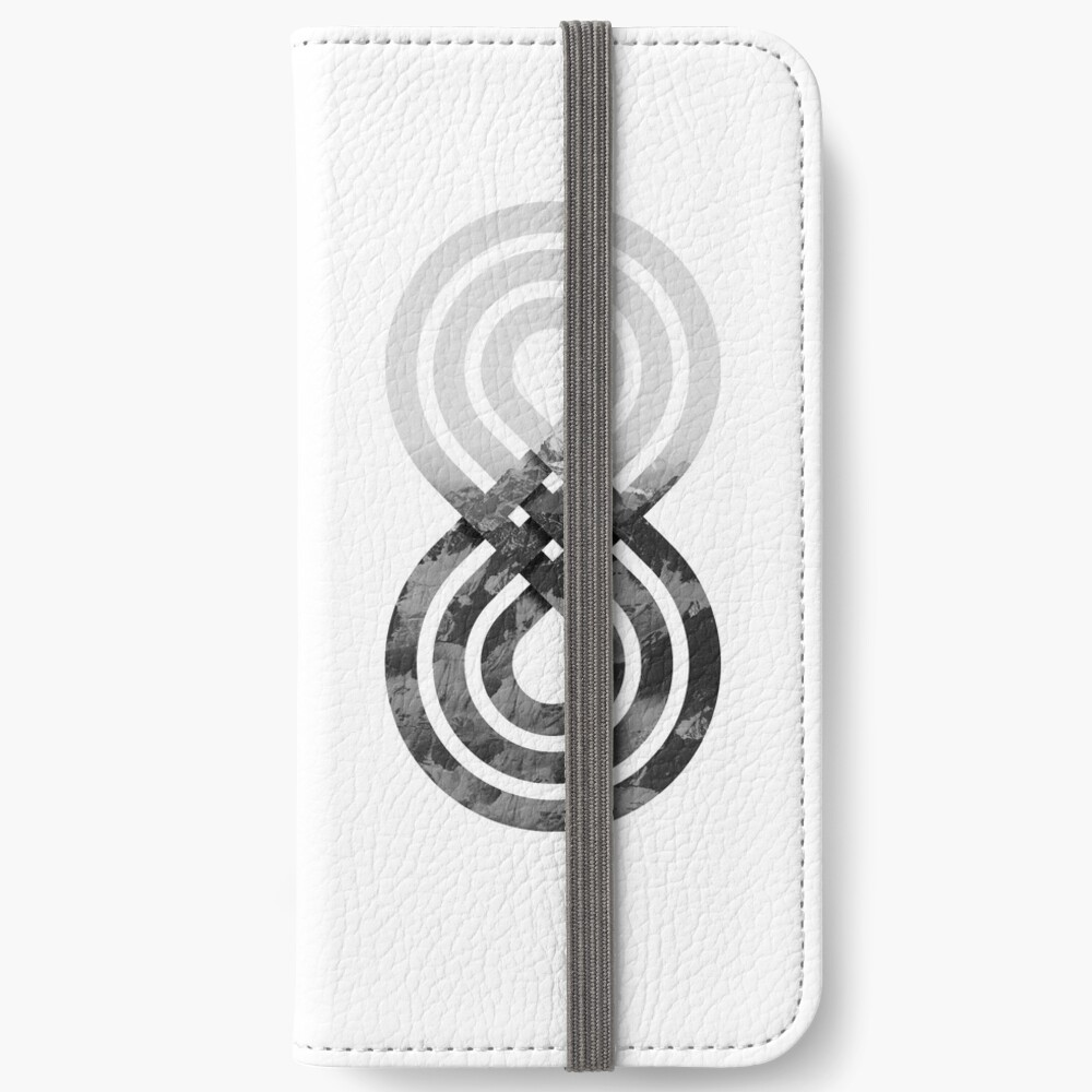 Nature's knot iPhone Wallet