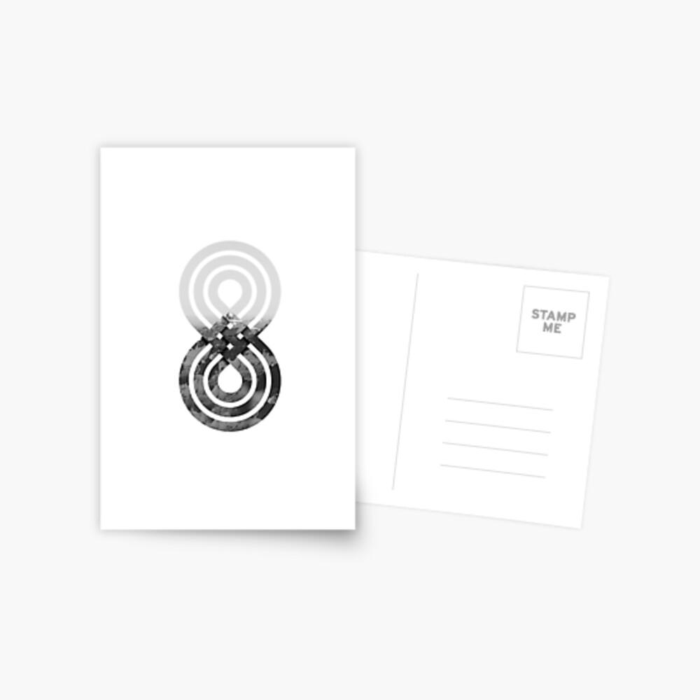Nature's knot Postcard