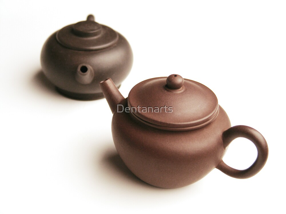 Chinese teapots by Dentanarts