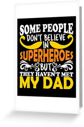 Fathers Day Superhero Dad Birthday Daughter Son Tshirt Gifts By Shirt Online