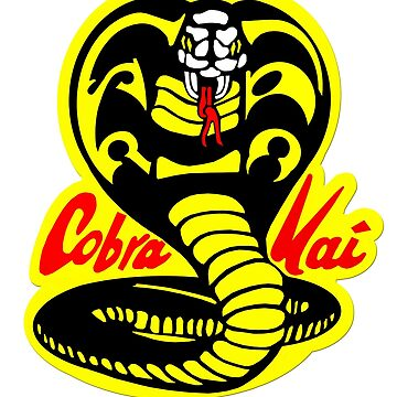 Cobra Kai Logo by 16TonPress