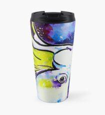 Galaxy Cockatoo Travel Mug