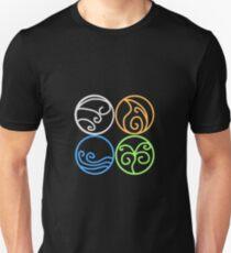 The Four Classical Elements Unisex T-Shirt