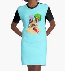 Destiny Trio Island Graphic T-Shirt Dress