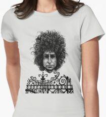 Bob Dylan Women's Fitted T-Shirt