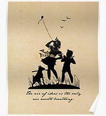 Edith Wharton - Air of Ideas Poster