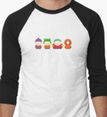 Camiseta ¾ bicolor para hombre parque del Sur