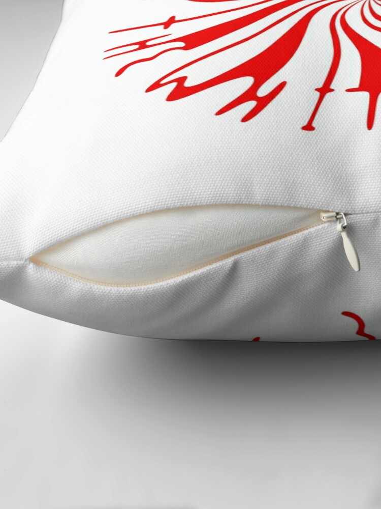 Alternate view of Candy Cane Children Throw Pillow
