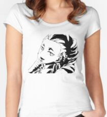 Death Parade Nona Women's Fitted Scoop T-Shirt
