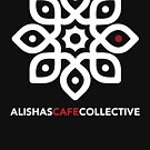 Alisha's Cafe Collective (on Black) by mahesh Jadu