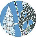 LA a Day - Watts Towers by jenlinhua