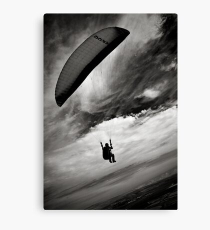 one on one with sky Canvas Print
