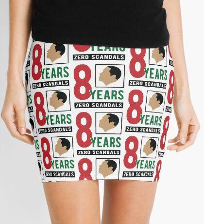Obama 8 Years Zero Scandals Mini Skirt