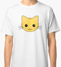 Cute Kawaii Yellow Tabby Cat Classic T-Shirt