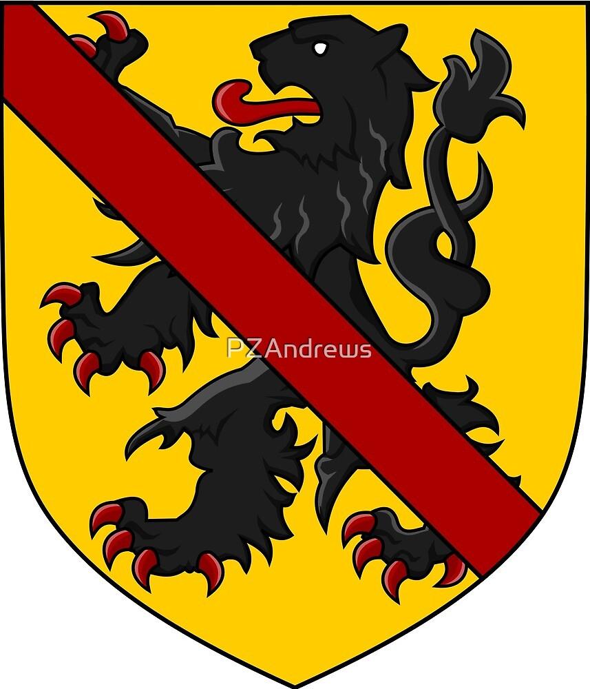 Coat of Arms of Namur, Belgium by PZAndrews
