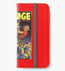 Doc Savage August 1937 iPhone Wallet/Case/Skin