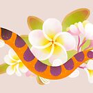 Kuhli loach and plumeria by pikaole
