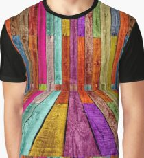 Never Bored with Color Graphic T-Shirt