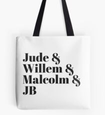 A Little Life (White) Tote Bag