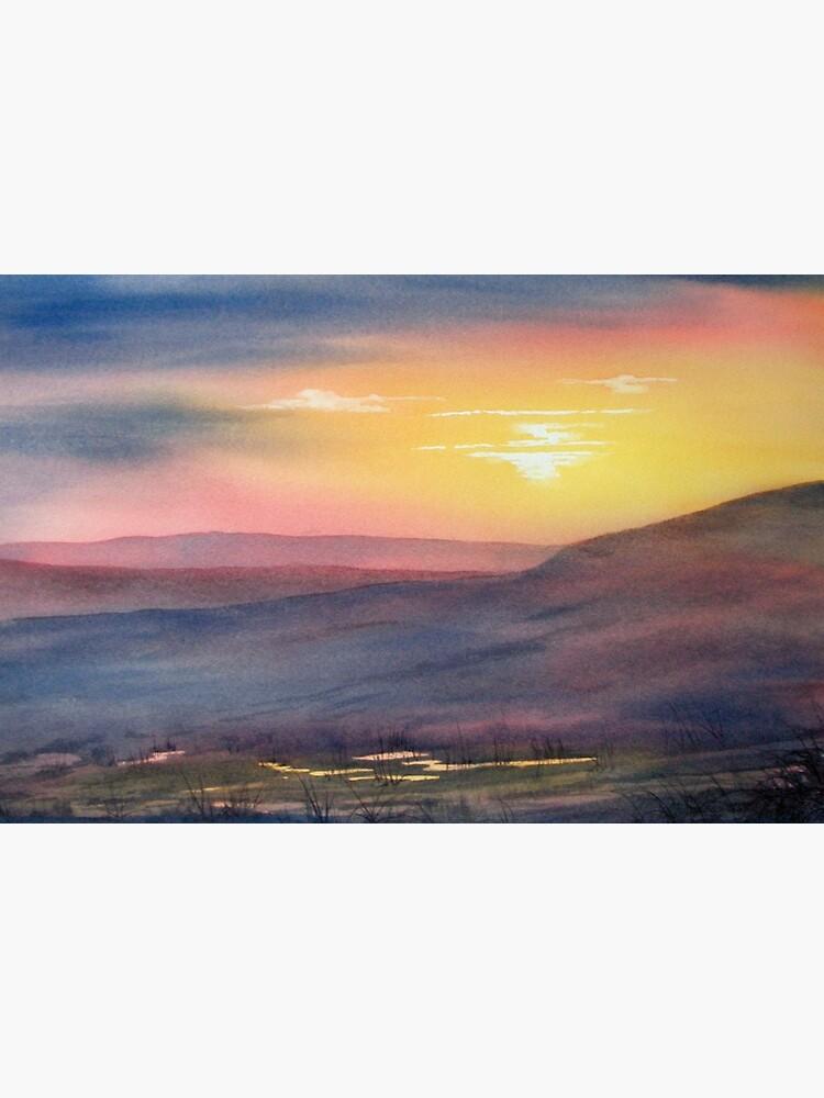 Sunset on Rosedale Head by GlennMarshall