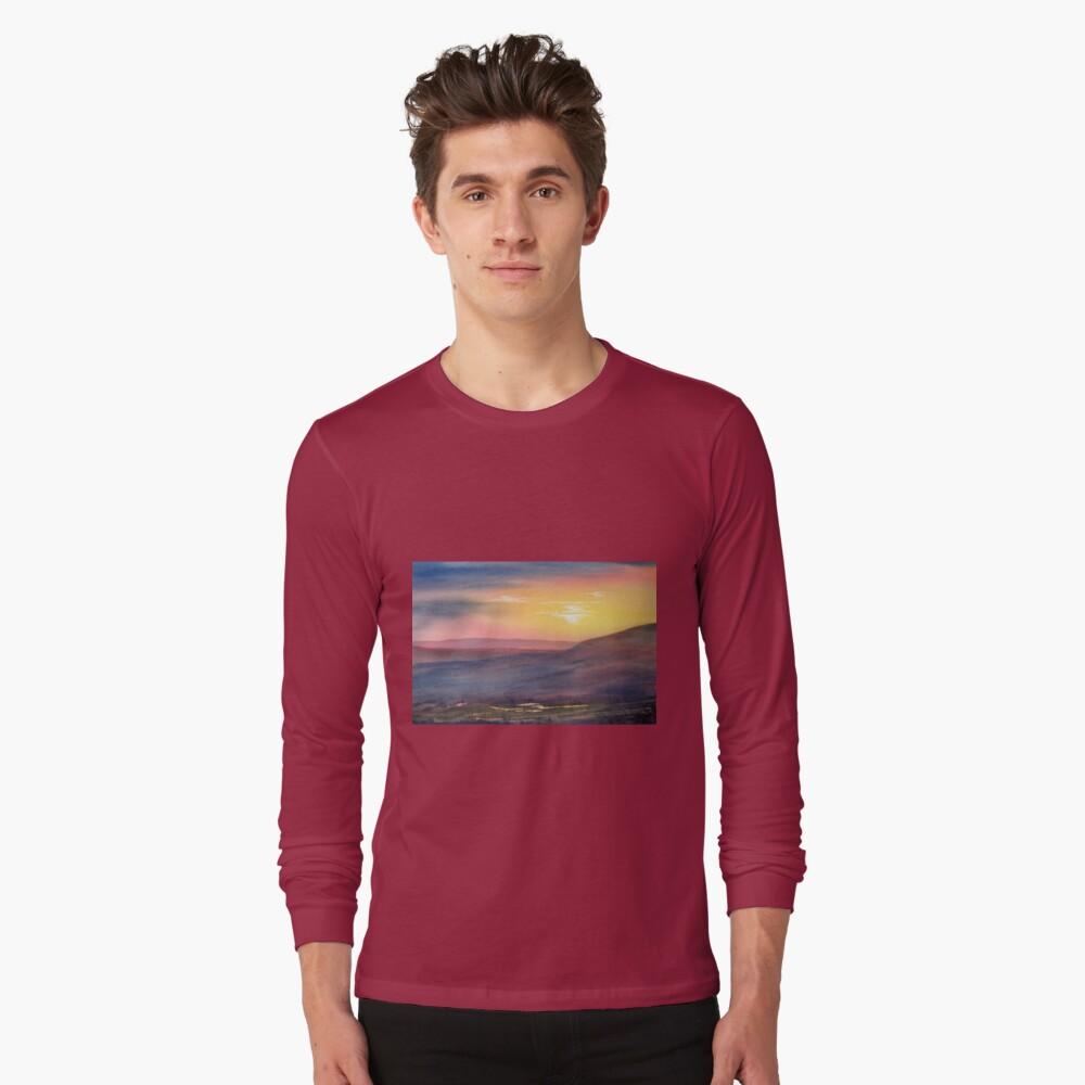 Sunset on Rosedale Head Long Sleeve T-Shirt