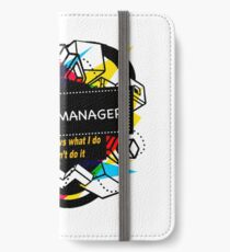 BUDGET MANAGER iPhone Wallet/Case/Skin