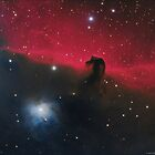 IC 434 and Horsehead Nebula by Jeff Johnson