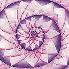 Lotus Unfoldment by vickievansart