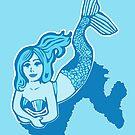 Blue Mermaid by Abigail Davidson