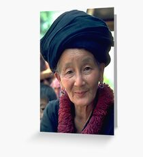 Mien tribe grandmother Greeting Card