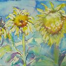sunflowers by christine purtle