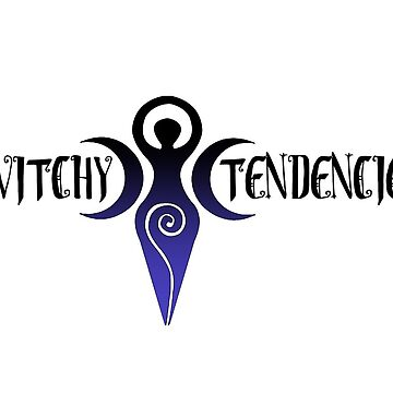 Witchy Tendencies Logo (Black) by WitchyTendency