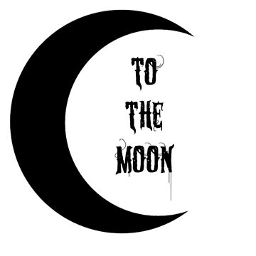 To the Moon (Black) by WitchyTendency