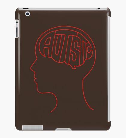 Autistic Mind  – Red iPad Case/Skin