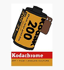 Kodachrome Photographic Print