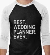 best wedding planner ever husband t-shirts Men's Baseball ¾ T-Shirt