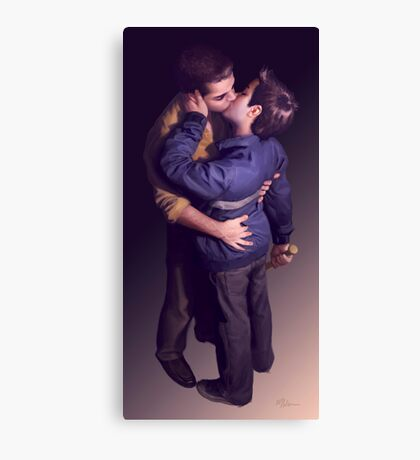 Tough (Just The Kiss) Canvas Print