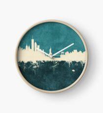 New York Skyline Clock