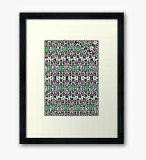 Galaga/Rip Framed Print